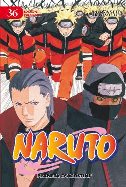 Naruto Nº36/72 (Pda)