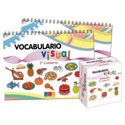Alimentos:cuaderno 2º de vocabulario visual