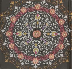 Cuaderno mandala negro iman