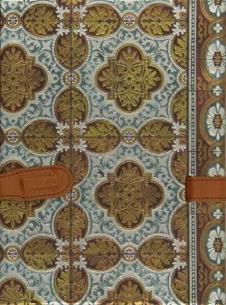 Cuaderno azulejos Portugal con broche