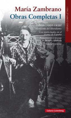 María Zambrano 1930-1939