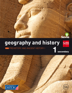 (16).GEOGRAPHY AND HISTORY 1º ESO.(CANT/CM/RJA/NAV) SAVIA