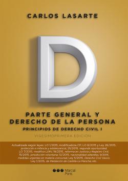 Parte general y derecho DE LA PERSONA.(21ªED)