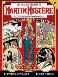 Martin Mystere, 3-4 Gran Houdini