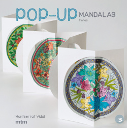 Mandalas de pop-up flores
