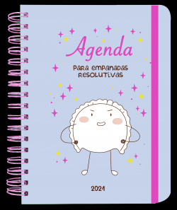 Agenda anual semana vista 2021 Croqueta y Empanadilla