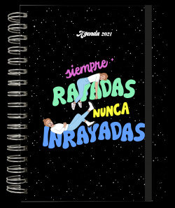 Agenda anual semana vista 2021 Las Rayadas