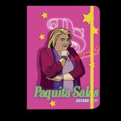 Agenda anual bolsillo 2021 Paquita Salas