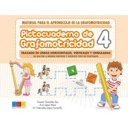 Pictocuaderno de Grafomotricidad 4