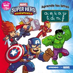 Los Vengadores. Aprende las letras. (Leo con Marvel - Nivel 1 Plu