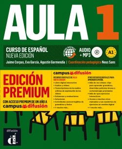 Aula Nueva Edición 1 Premium libro del alumno + CD