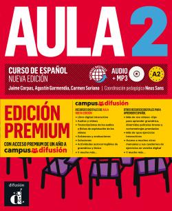 Aula Nueva Edición 2 Premium libro del alumno + CD
