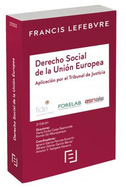 Manual Derecho Social de la UE. Aplicación por el Tribunal de Justicia