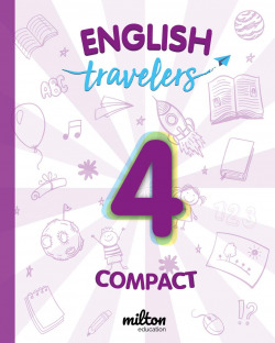 Travelers Red 4 - English Language 4 Primaria - Student Book Compact