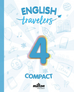 Travelers Blue 4 - English Language 4 Primaria - Student Book Compact