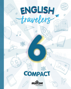 Travelers Blue 6 - English Language 6 Primaria - Student Book Compact