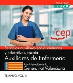 Servicios auxiliares socio-sanitarios y educativos, escala Auxiliares de Enfermeria