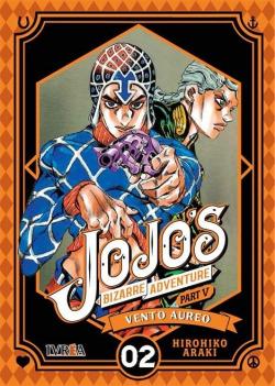JOJO'S BIZARRE ADVENTURE 05 VENTO AUREO 02