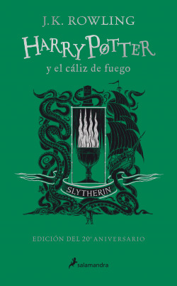 Harry Potter y el cáliz de fuego (edición Slytherin del 20º aniversario) (Harry Potter 4)