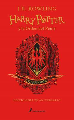 Harry Potter y la Orden del Fénix (edición Gryffindor del 20º aniversario) (Harry Potter)