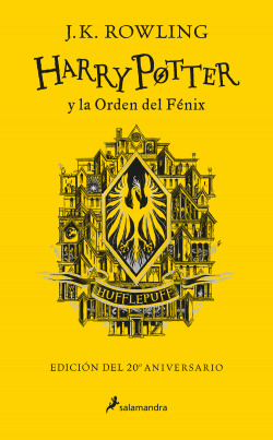 Harry Potter y la Orden del Fénix (edición Hufflepuff del 20º aniversario) (Harry Potter)