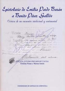 Epistolario de Emilia Pardo Bazán a Benito Pérez Galdós