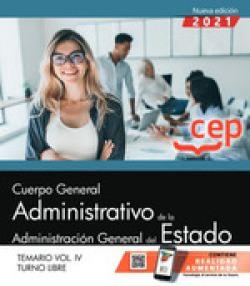 CUERPO GENERAL ADMINISTRATIVO ADMINISTRACION GENERAL 4