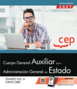 CUERPO GENERAL AUXILIAR ADMINISTRACION ESTADO VOL 3