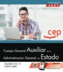 CUERPO GENERAL AUXILIAR ADMINISTRACION ESTADO VOL 4