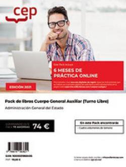 PACK LIBROS Y PRACTICA ONLINE CUERPO GENERAL AUXILIAR ADMIN
