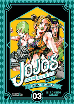 Jojo Bizzarre Adventure Parte 6: Stone ocean 03