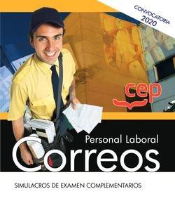 PERSONAL LABORAL CORREOS SIMULACROS DE EXAMEN COMPLEMENTARI