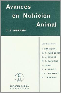 AVANCES EN NUTRICIÓN ANIMAL