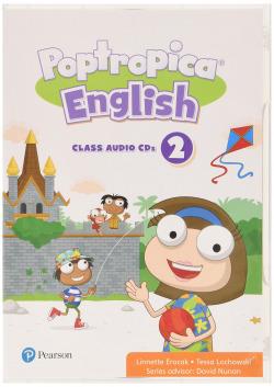 POPTROPICA ENGLISH 2 CLASS CD