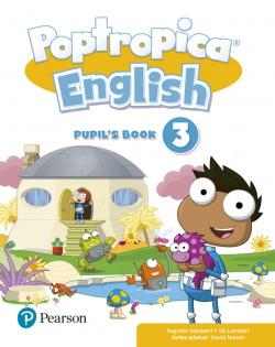 POPTROPICA ENGLISH 3 PUPILS BOOK PACK