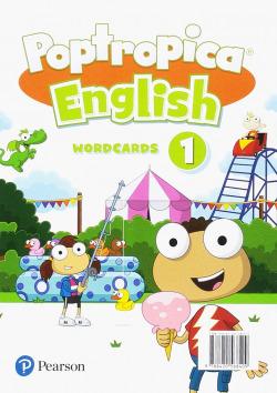 POPTROPICA ENGLISH 1 WORDCARDS