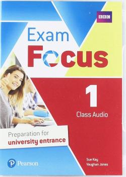 EXAM FOCUS 1 CLASS AUDIO CD