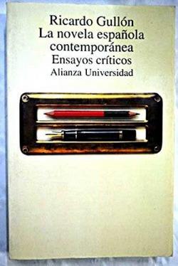 La novela española contemporánea