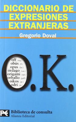 Diccionario expresiones extranjeras
