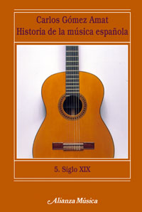 Historia musica española. siglo xix