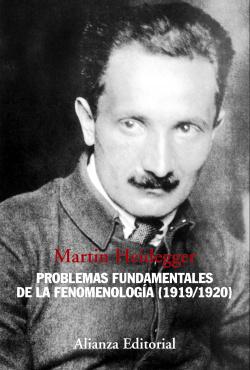 Problemas fundamentales de la fenomenología:1919/1920