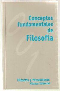 Conceptos fundamentales de filosofía