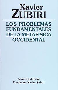 Problemas fundamentales metafisica occidental
