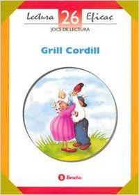 ANT/(CAT).26.GRILL CORDILL (JOCS DE LECTURA)