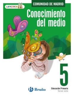 (MAD).(14).LAPICEROS CONOCIMIENTO DEL MEDIO 5 (MADRID)