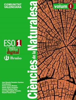 ContextDigital Ciències de la Naturalesa 1 ESO Comunitat Valenciana
