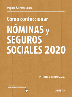 Cómo confeccionar nóminas y seguros sociales 2020