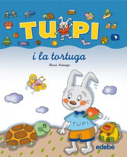 En TUPI i la tortuga (letra manuscrita)