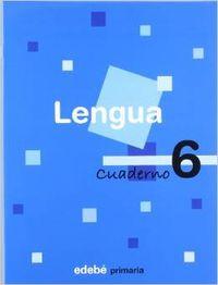 ANT/(07).CUAD.LENGUA 6-2O.PRIM.(EN RUTA)