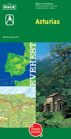 Mapa provincial de Asturias